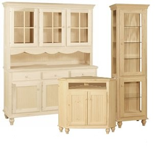 Cottage Living Collection: Unfinished Furniture