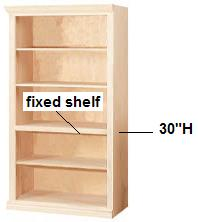 30 Tall Bookcases Have One Base Adjule